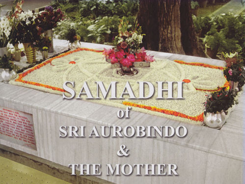 Samadhi of Sri Aurobindo and the Mother